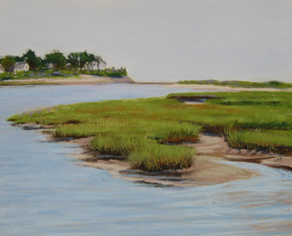 Mousam River, Suzanne M Payne, Kennebunkport