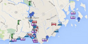 map kennebunkport Maine