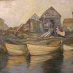 David Fouts, andmark Gallery, Ocean Avenue Kennebunkport Maine dory maker