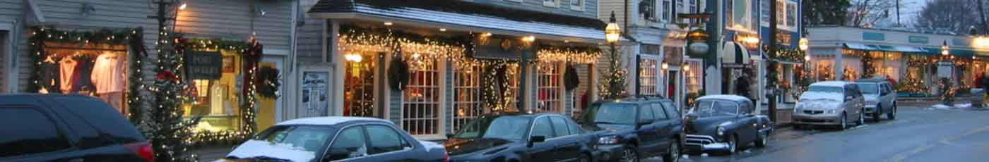 shopping kennebunkport Maine